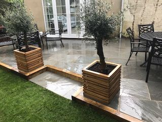 new patio Bordon