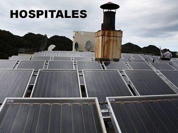 Calentador solar industrial para hospitales