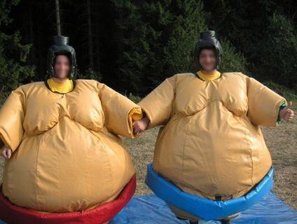 location sumo adulte et enfant
