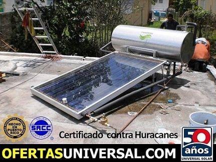 Calentador solar economico