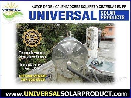 Tanques para calentadores solares. universalsolarpr.com. 787-635-5575