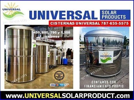Cisternas Puerto Rico, Universal