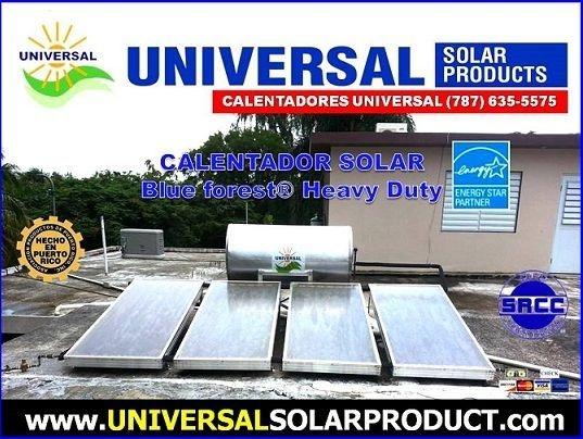 Modelo calentador solar Heavy Dusty