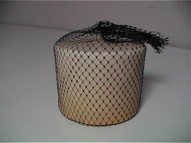 Super Block Perfect deodorant powerhouse for sewers, elevator shafts, dumpster areas, garbage collection areas and water treatment facilities. Unique mesh hanger, safe for easy hanging. Fights odors up to 14 weeks 100% air activated. Won't dissolve in water so all its fragrance goes into the air not the water. Dyed to match the fragrance