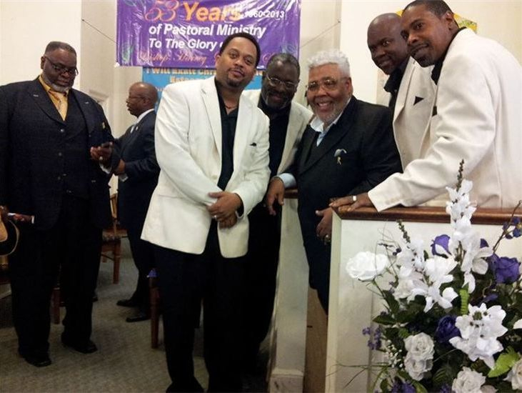 The Sons with Bishop Rance Allen