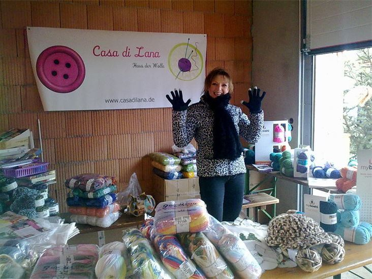 Casa di Lana/ Haus der Wolle Weihnachtsmarkt