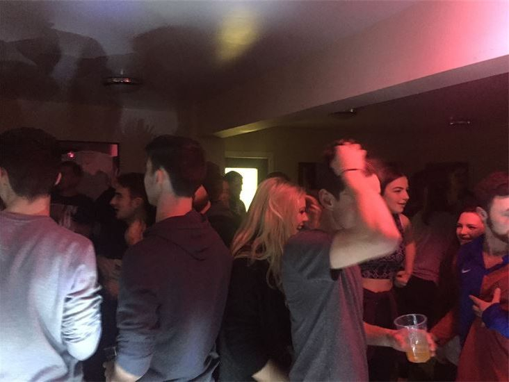 Guests on the dance floor at Formby Cricket Club  Party, Mobile Disco, Southport, DJ, Wedding, Karaoke, Birthday, Race Night, Event, Glynn Tee