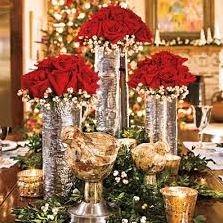 christmas, flowers, holidays
