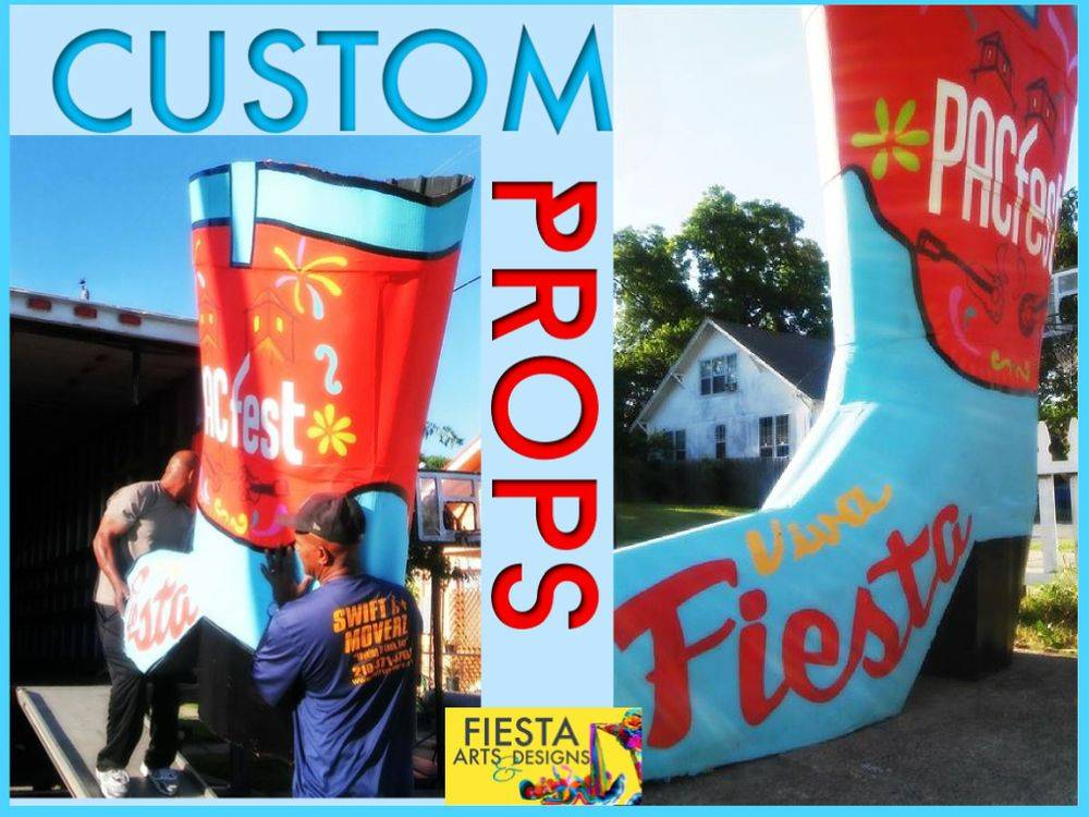 custom stage displays & parade floats