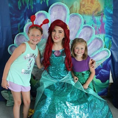 Ariel visit princess Birthday Party