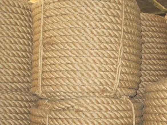 Jute rope in UAE stock