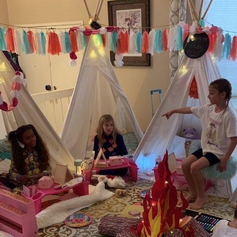 teepee rentals, kids party rentals, party rentals, kids birthday parties, kids birthday party, party planner, kids party planner, sleepover, Newport Beach, Orange County, CA
