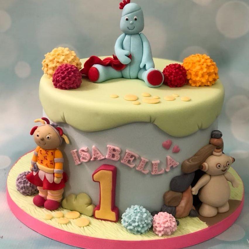 Night Garden Birthday Cake Iggle Piggle Upsy Daisy Makka Pakka