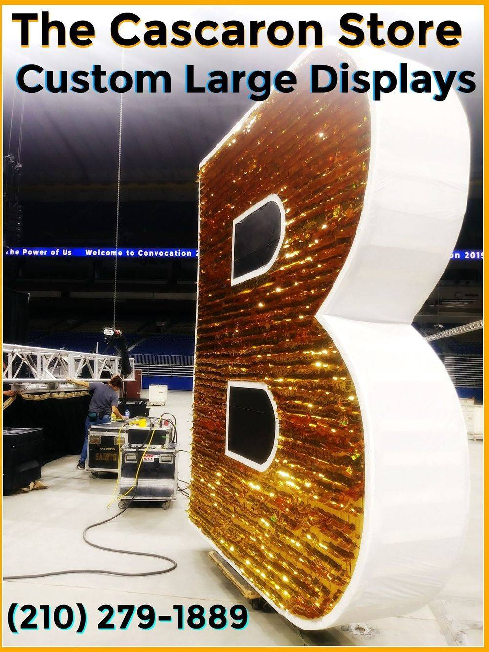 commercial large display decorations