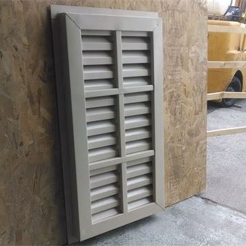 aluminum rectangle gable vent