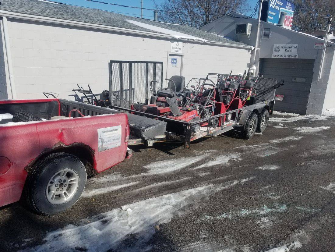 Cub Cadet Snow Blower Thrower Repair Service Bloomington Normal Illinois