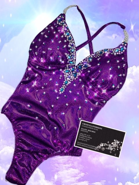 fit model one piece competition suit