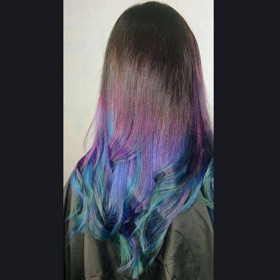 oil slick hair charlotte nc colorist stylist