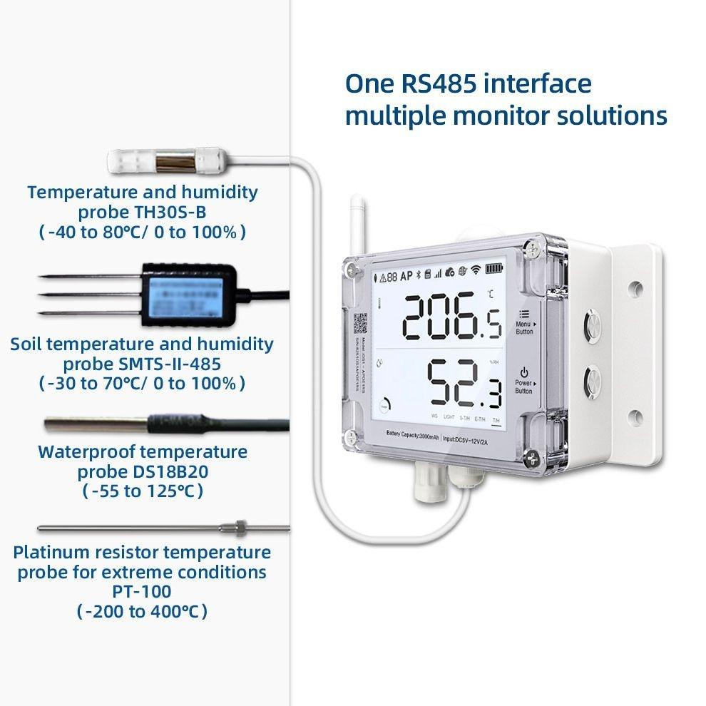 Ubibot Temperature And Humidity Sensor Probe