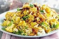 Try Arista'sVegetable Biryani