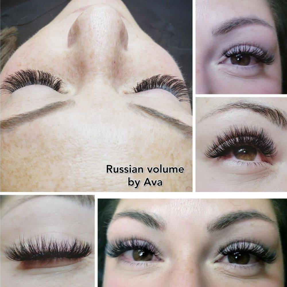 Russian Volume Eyelash Extensions By Ava