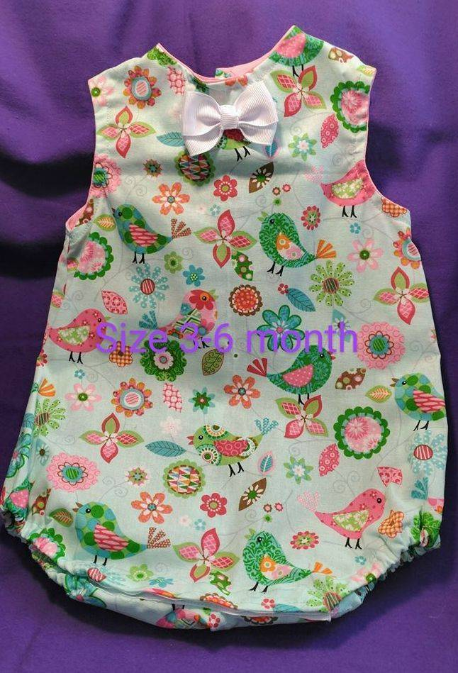 Infant Sun suit, Baby Romper, Baby Clothes, Summer Infant