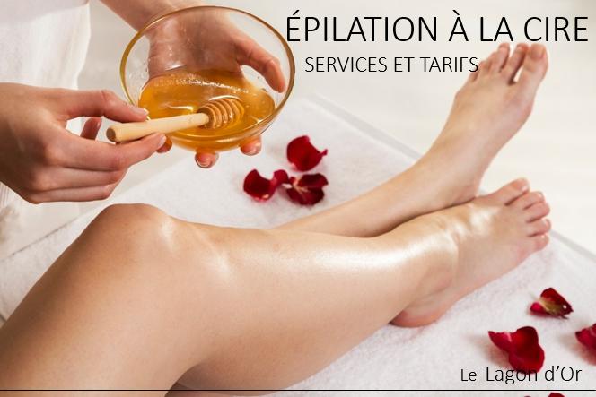 Esthétique esthetics estheticienne  gatineau épilation hair removal le lagon d'or lelagondor