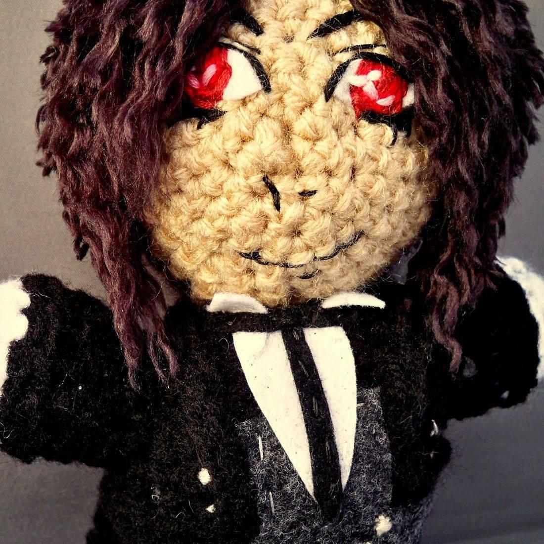 Sebastian Michaelis, Black Butler, Kuroshitsuji, Demon Butler, amigurumi, plush, doll, otaku, anime, handmade, crochet