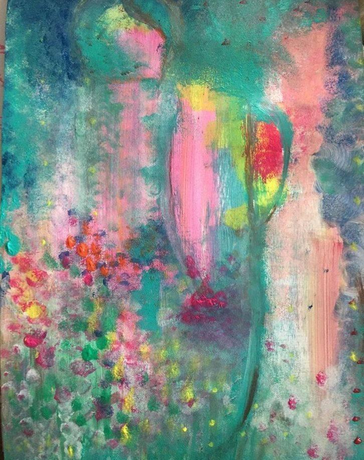 Magic nature, abstrakt, expressionism, natur, arts