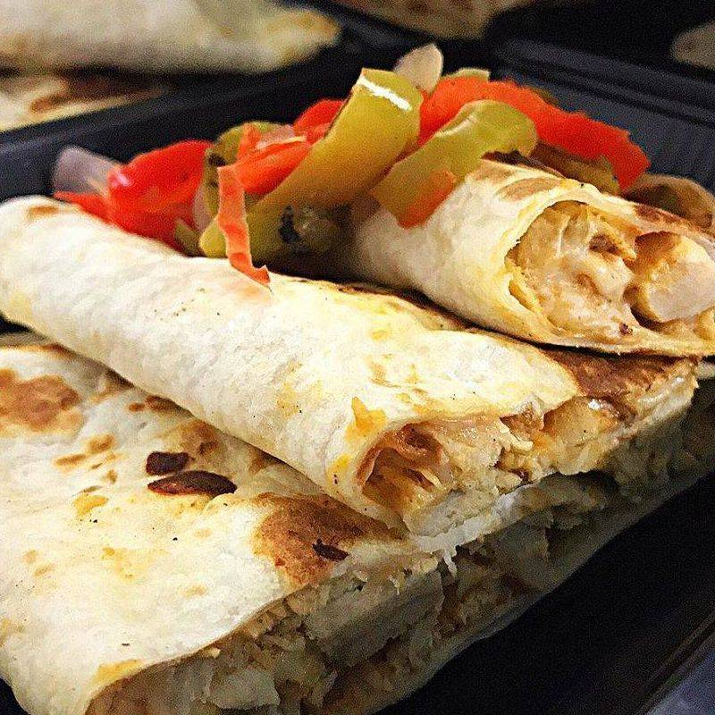 Chicken quesadilla Boxed meal