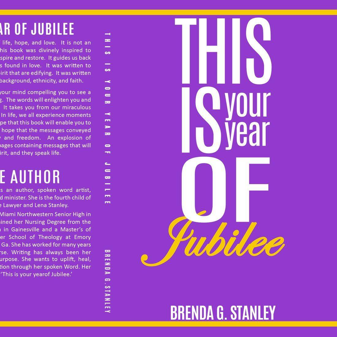 This is your year of Jubilee
