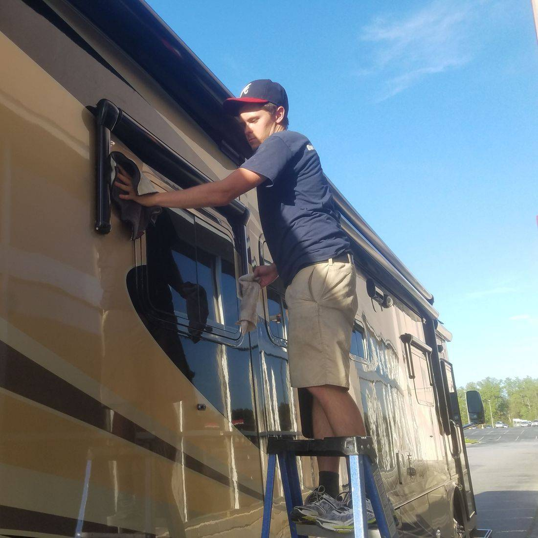 mobile car detailing, rv paint correction, Gwinnett Auto Appearance