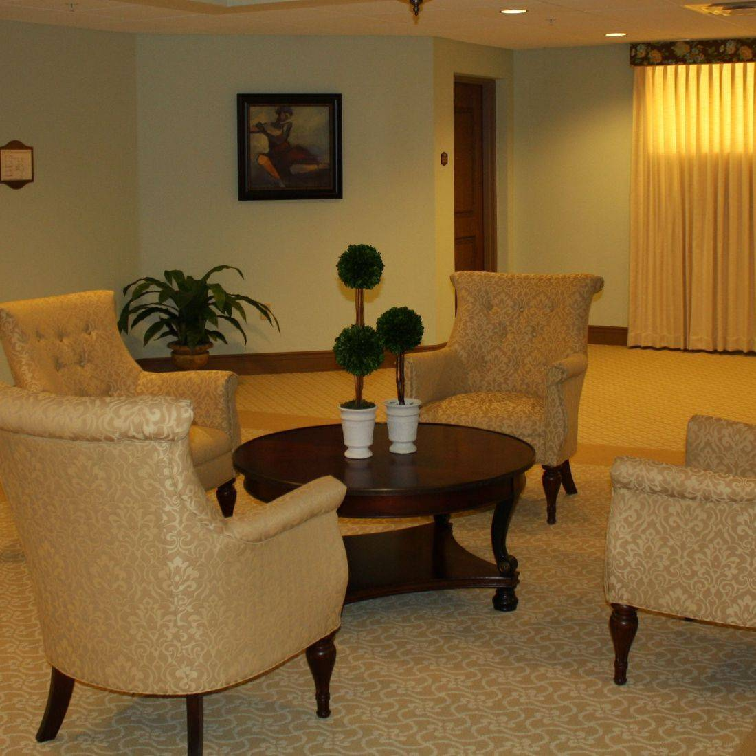 Resident  Gathering Area at Sumter Place by the Creative Design Team