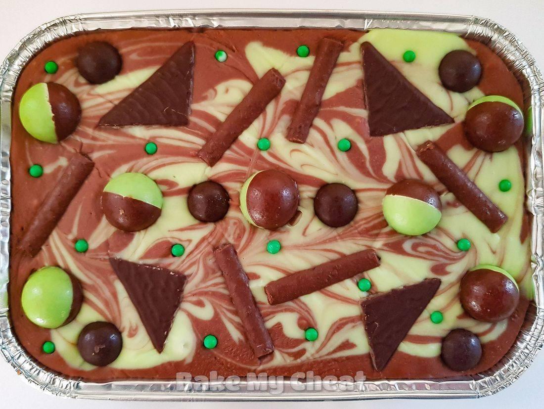 Aero fudge, Aero gifts, mint chocolate gifts, chocolate by post