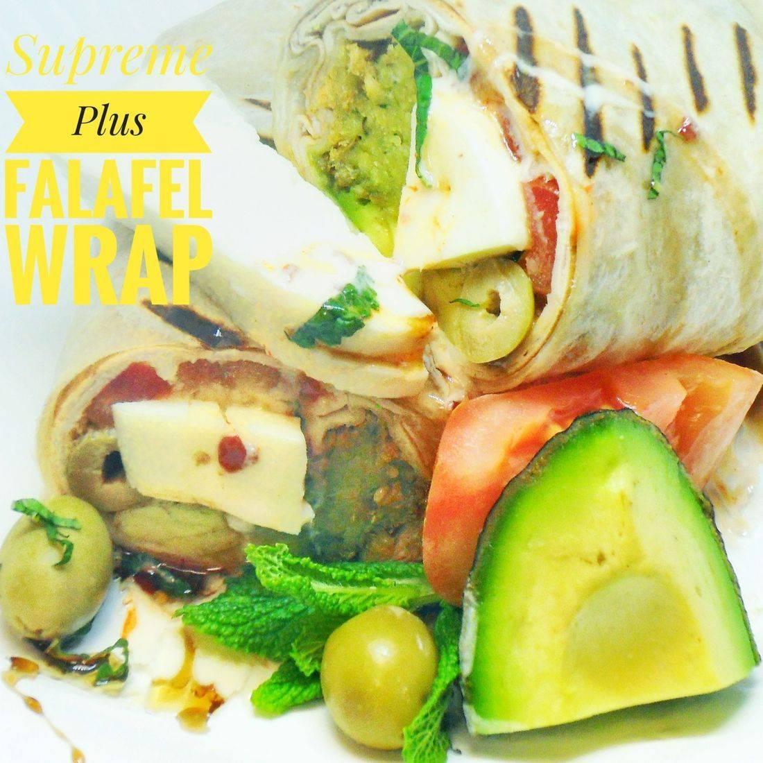Supreme Plus Falafel Wrap