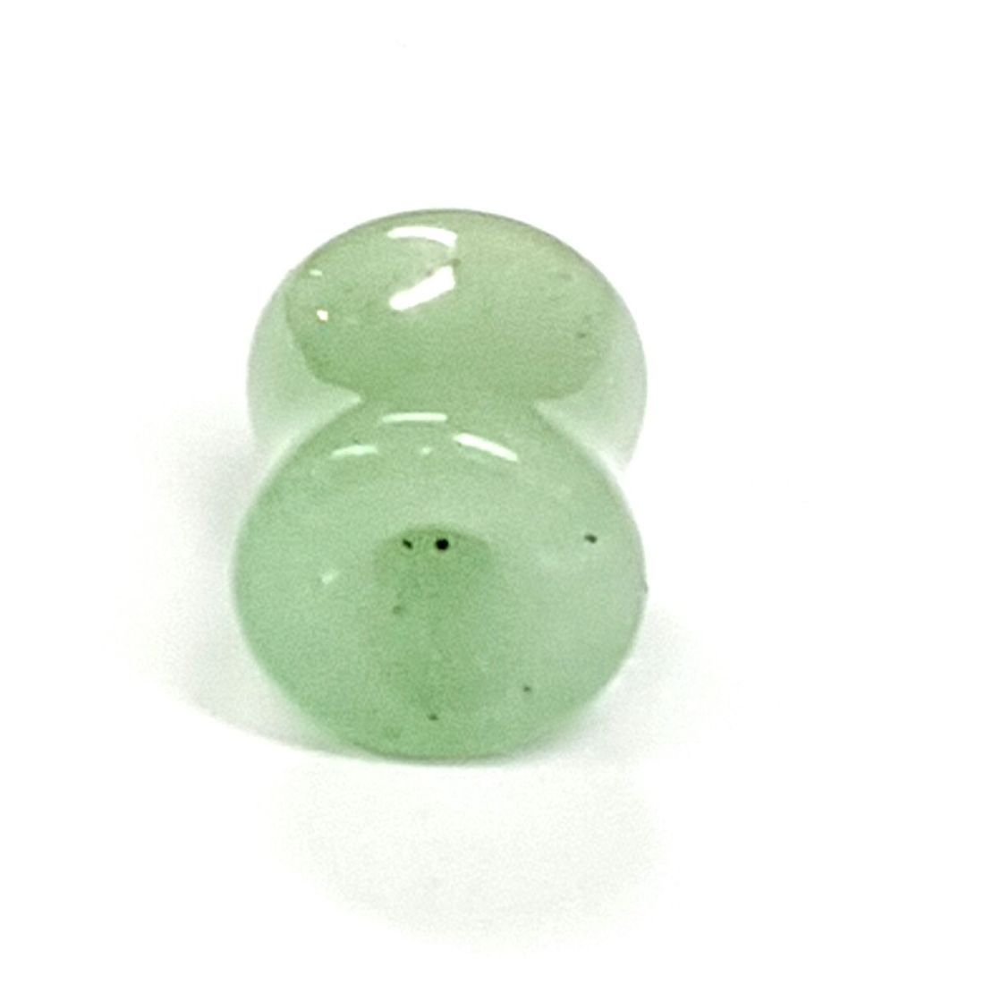 Pale Jade stone tunnel  available at Kazbah online or our Leicester City Centre store