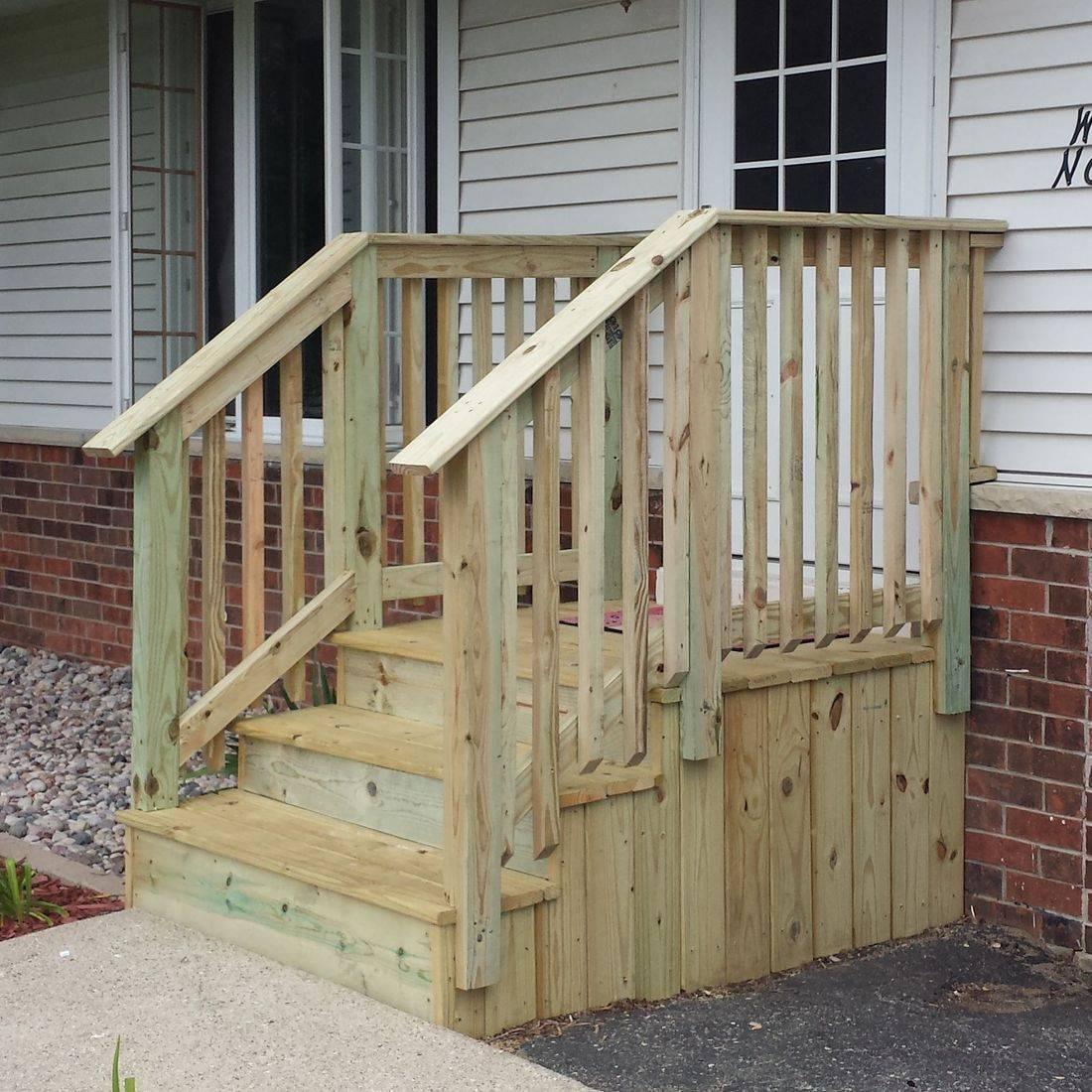 Treated Lumber Stairs Rails Decks
