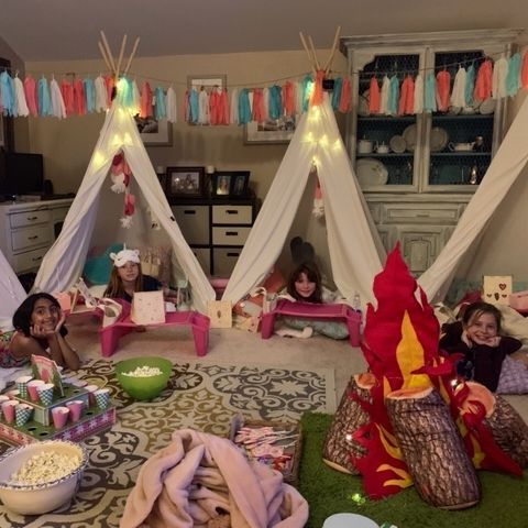teepee rentals, kids party rentals, kids birthday parties, kids birthday party, sleepover, kids party planner, party planner, Newport Beach, Orange County, CA