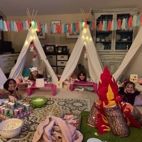 teepee rentals, kids party rentals, kids birthday parties, kids birthday party, sleepover, kids party planner, party planner, Newport Beach, Orange County, CA