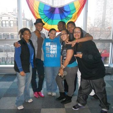 Very first annual Thanksgiving dinner at Center on Halsted-2012