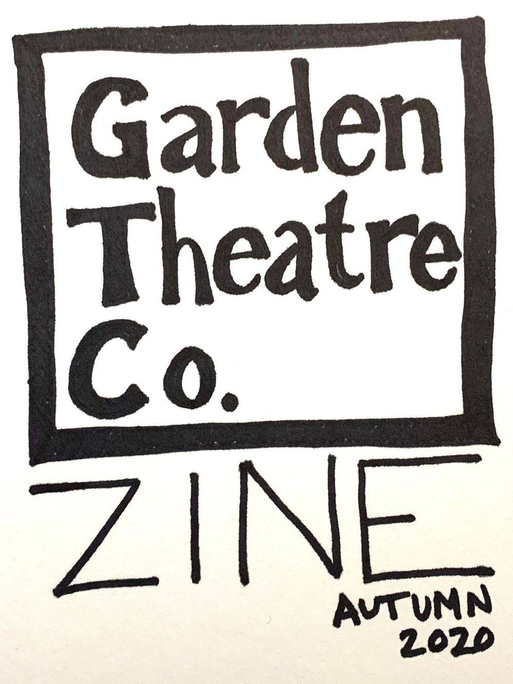 garden theatre company zine autumn 2020 theatre publication nashville tennessee