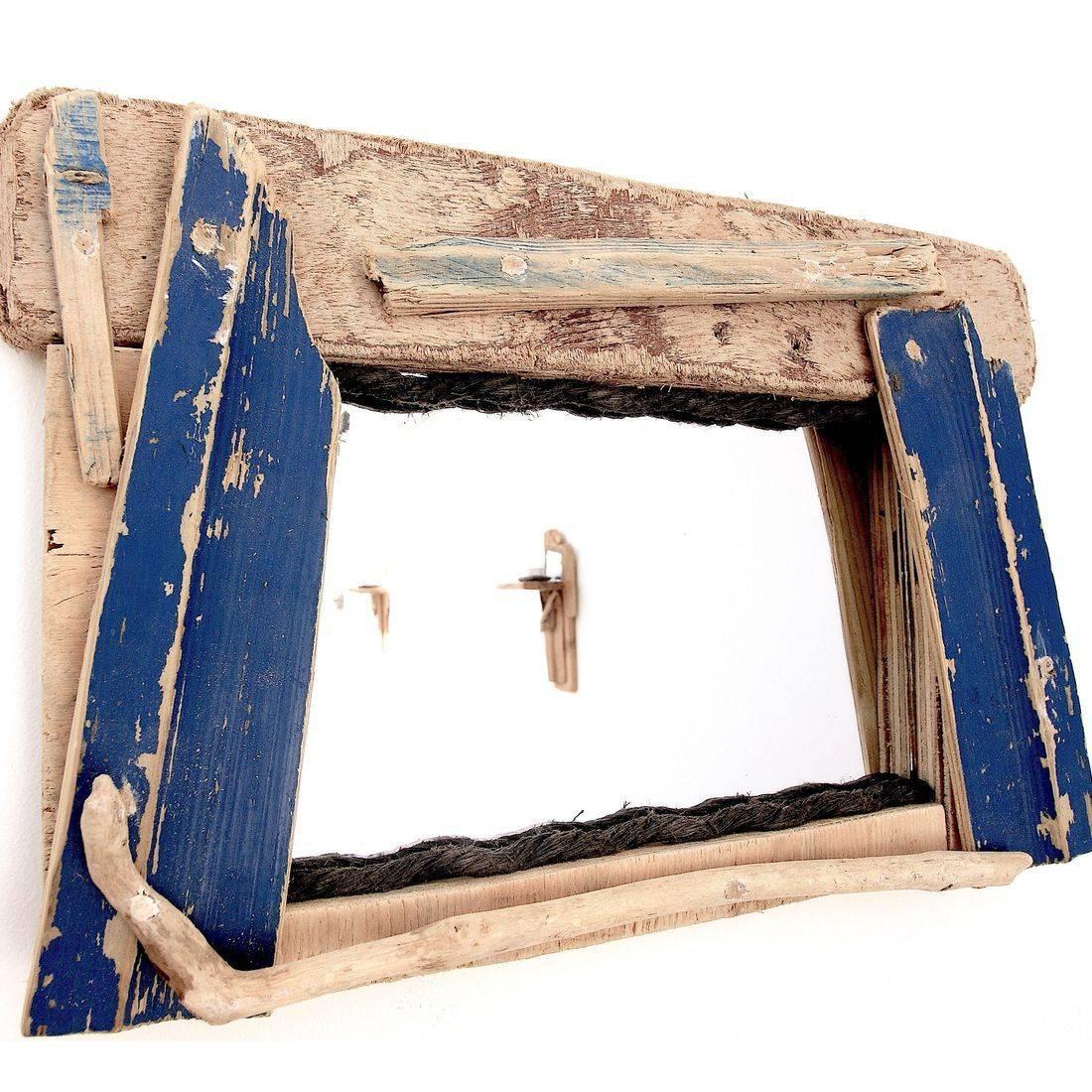 Driftwood Mirror 36
