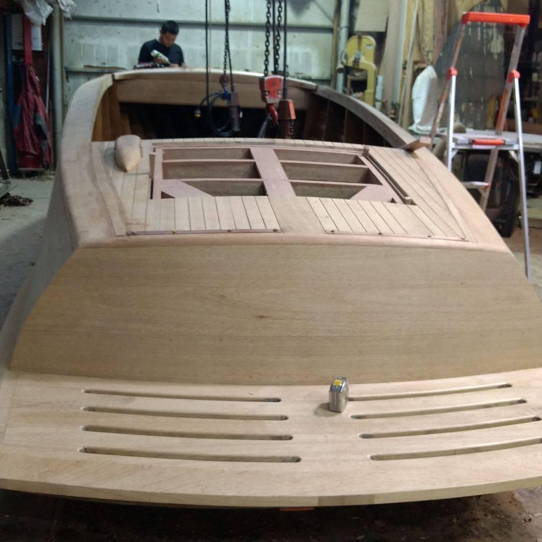 custom built shepherd at shepherd boat co