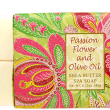 Passion Flower & Olive Oil Shea Butter Soap
