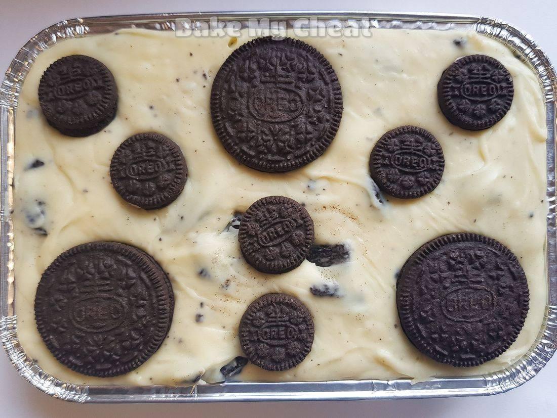 oreo fudge, oreo gifts, cookies and cream fudge, handmade gift
