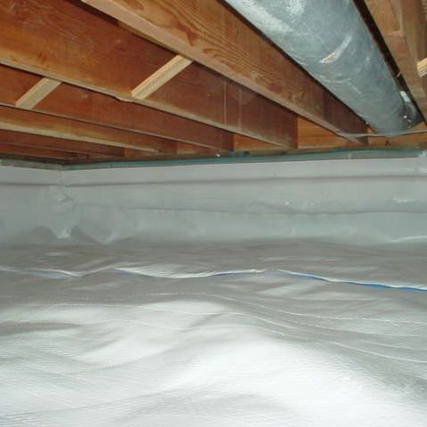 Crawl Space Vapor Barrier