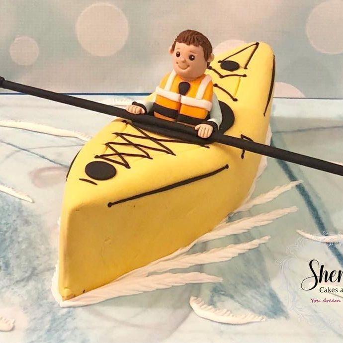 Birthday Cake Novelty Canoe