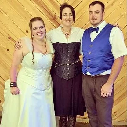 steampunk, wedding, officiant, charlotte, NC, celebrant, minister, venue