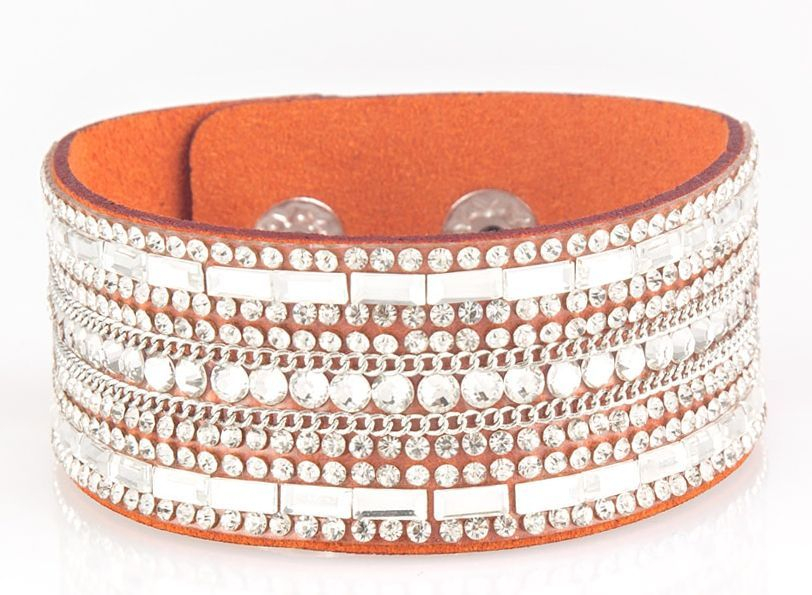 Paparazzi Rebel Radiance Bracelet - Orange