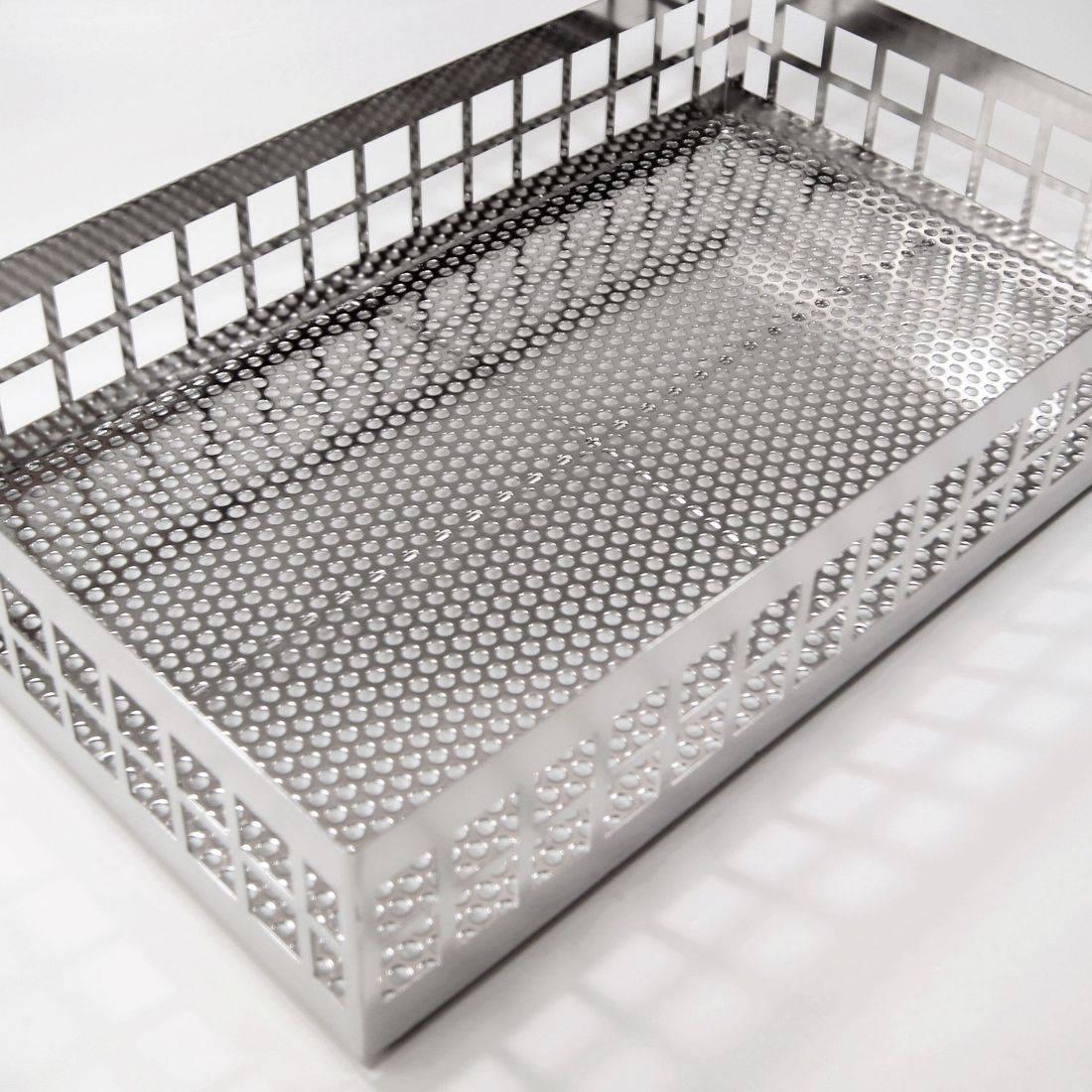 Perforated Sheet Metal Basket
